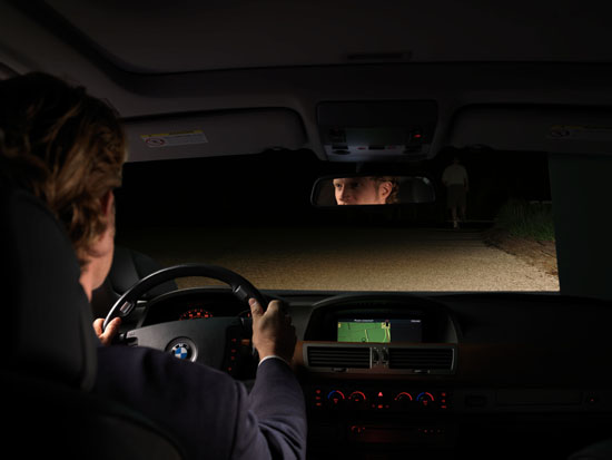 BMW was the first European car maker to automate the use of high beams when in 2005 it introduced this innovative new lighting technology developed by Gentex Corporation on its 5, 6 and 7 Series models.  The technology has recently been extended to the new X6 model.
