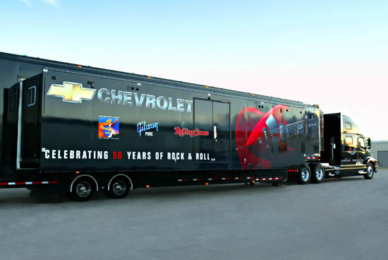 Chevrolet Rock And Roll Tour Trailer