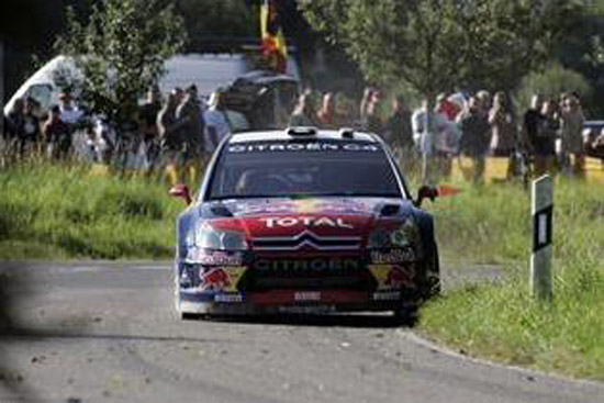 Day 1: Citroën, Loeb and Elena in Olympic form