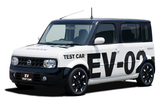 Electric vehicle (Test vehicle)