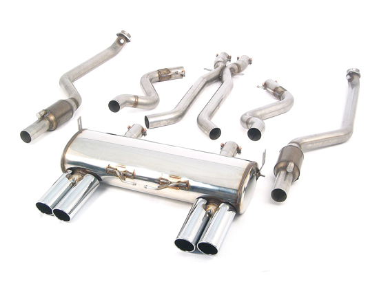 HARTGE stainless steel exhaust system