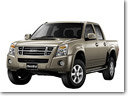 ISUZU newly introduce its pickup trucks to Russian market