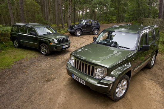 Jeep wins '4x4 of the year' hat-trick