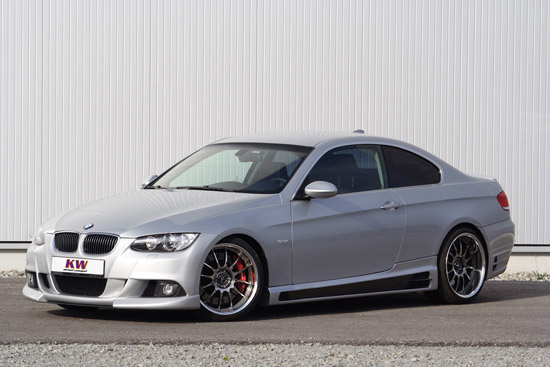 KW street comfort for the BMW 3 series coupe E92