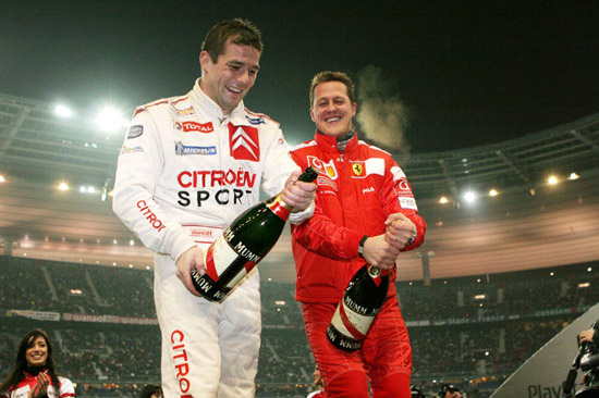Loeb to join Schumacher at The Race of Champions