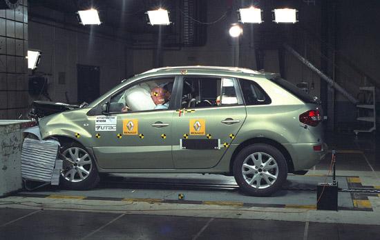 Renault Koleos scores five Euro NCAP stars