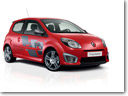 Twingo Renault sport entry level access to the renault sport thrill, with complete control