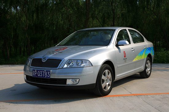 Škoda moves beijing olympians