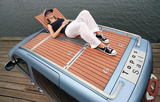 The Caddy Topos Sail Design Concept