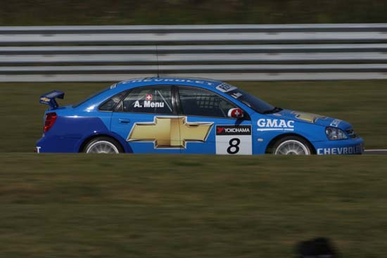 Alain Menu - Chevrolet WTCC