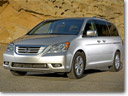 2009 Honda Odyssey Offers Efficient Performance and Comfortable, Spacious Seating in All Three Rows