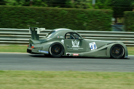 Aero 8 at the FIA GT3 Championship