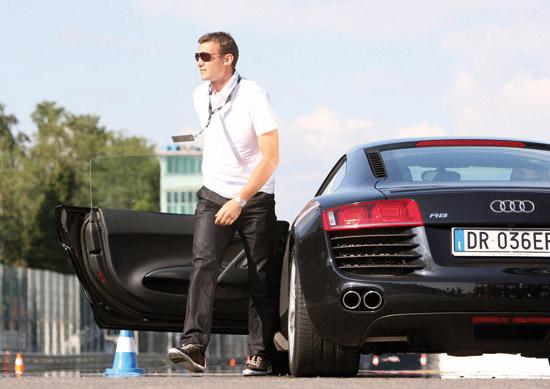 Andriy Shevchenko Audi R8