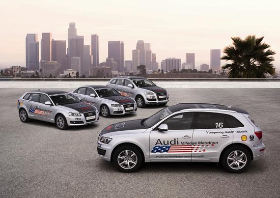Audi Q5 3.0 TDI, Audi A3 Sportback 2.0 TDI, Audi A4 3.0 TDI and Audi Q7 3.0 TDI