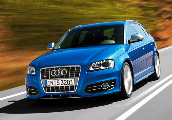 Audi S3 Sportback with S tronic twin-clutch transmission
