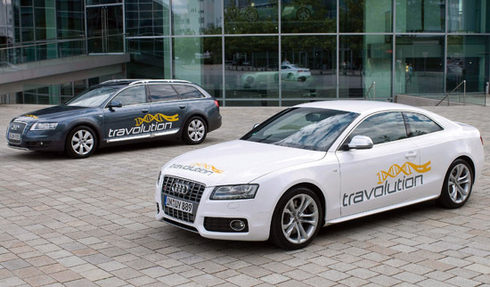 The Travolution traffic management project in association with Audi