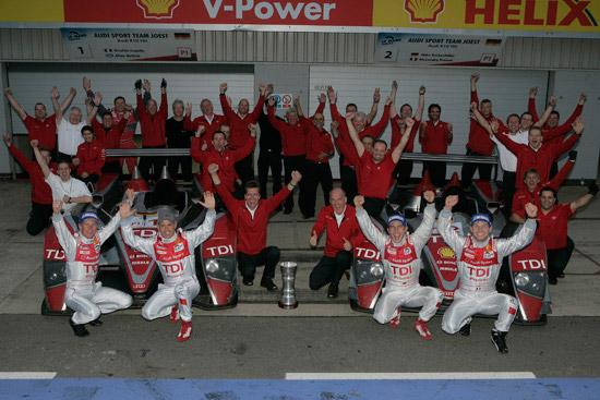 Audi wins Le Mans Series