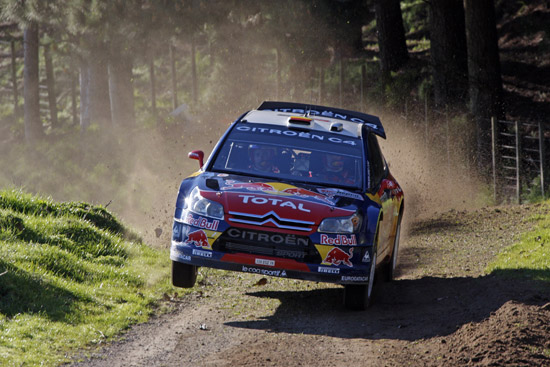 Loeb claims Citroen's 50th WRC win