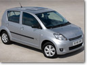 New Luxury option for Daihatsu Sirion