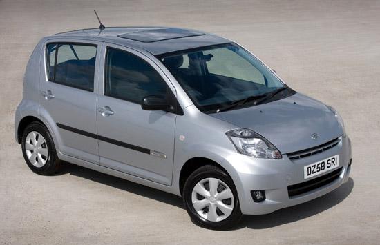 Daihatsu Luxury Sirion + Range