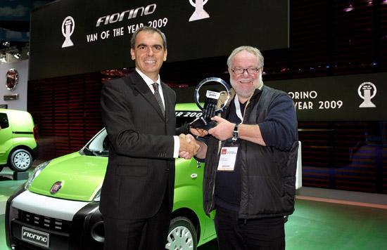 Fiorino is international van of the year 2009