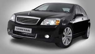 gm daewoo introduces new veritas, korea's true standard for large sedans
