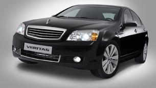 gm daewoo introduces new veritas, korea's true standard for large sedans