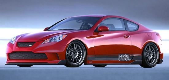 HKS Hyundai Genesis Coupe