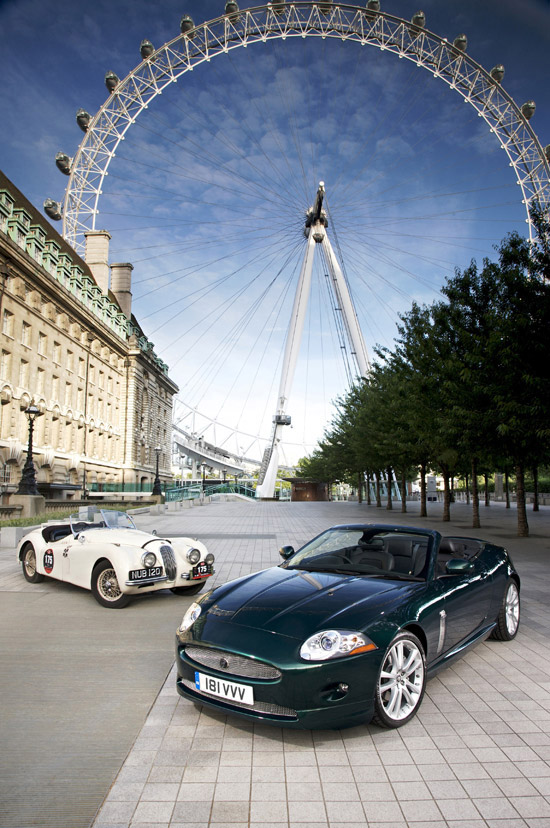 Jaguar Cars join organisers in issuing challenge for Hackett Beaujolais Run 2008