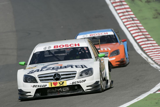 Jamie Green, Salzgitter AMG Mercedes C-Class, fourth