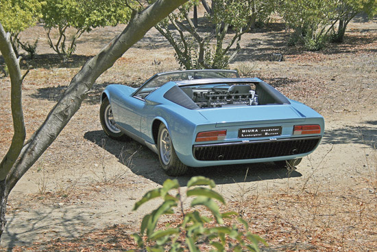 Lamborghini Bertone Miura Roadster