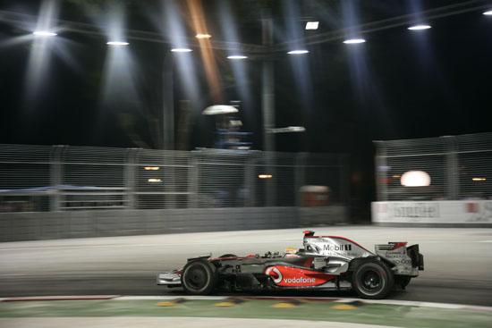 Lewis Hamilton, Vodafone McLaren Mercedes