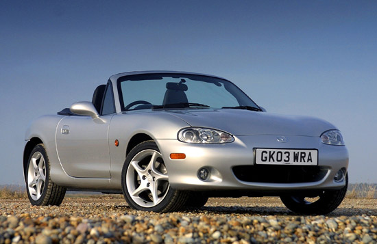 Mazda MX-5 'Best Roadster' Auto Express Used Car Homours