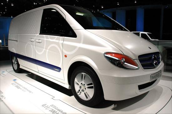 Mercedes Vito BlueEfficiency has frugal diesel and aerodynamic body