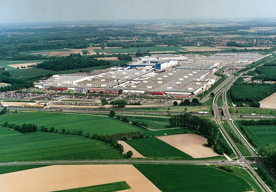 Mitsubishi's Nedcar Plant In Born, Holland