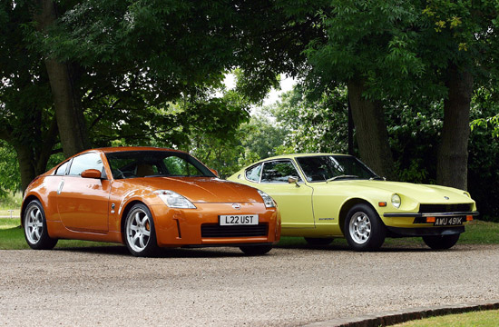 Nissan 350Z and Datsun 240Z