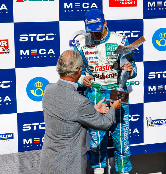 Pole Position and bronze for Volvo in STCC
