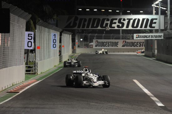 Singapore - Nick Heidfeld (GER) in the BMW Sauber F1
