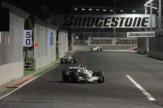 Singapore - Nick Heidfeld (GER) in the BMW Sauber F1