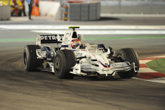 Singapore - Robert Kubica (POL) in the BMW Sauber F1
