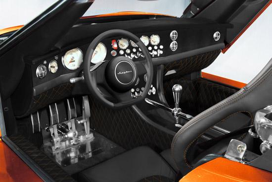 Spyker C8 Laviolette LM85 - Interior