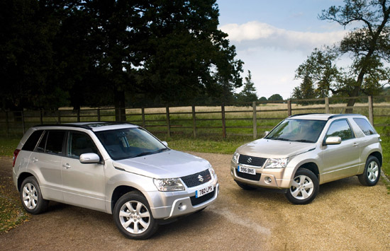 Suzuki Grand Vitara 2.4-litre five and three-door