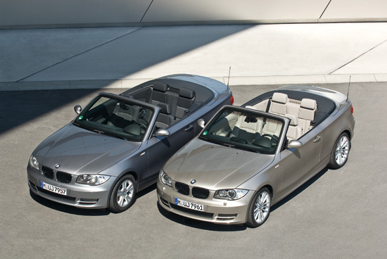 BMW 118d and BMW 123d Convertibles