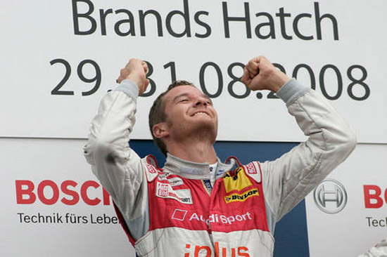 Timo Scheider triumphs at Brands Hatch