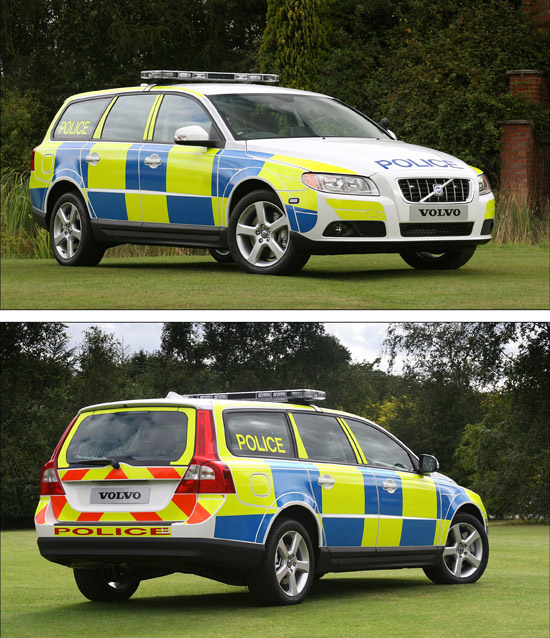 Volvo V70 Turn key police car