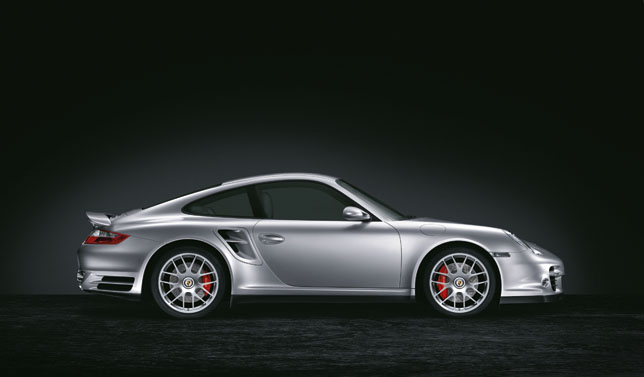 911 Turbo with 19-inch RS Spyder wheel