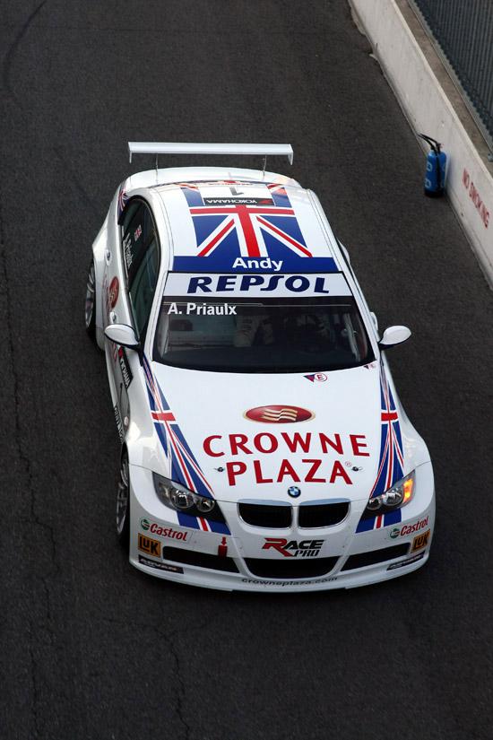 Andy Priaulx (GBR), BMW Team UK, BMW 320si WTCC - Monza, Italy