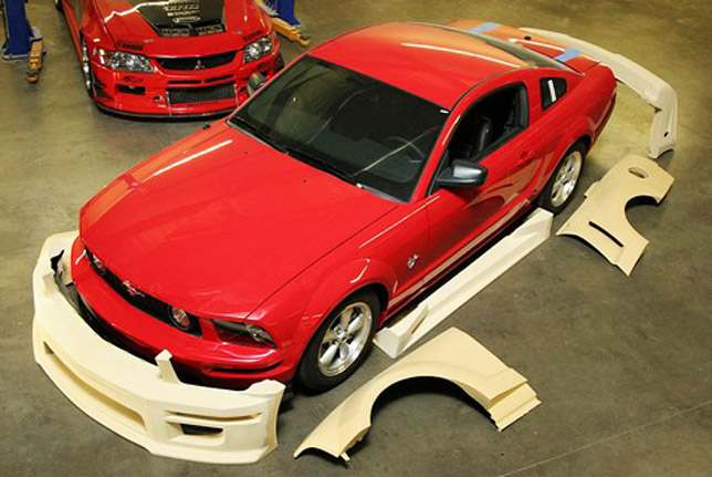 New Apr Widebody Mustang Gt Kit In Development