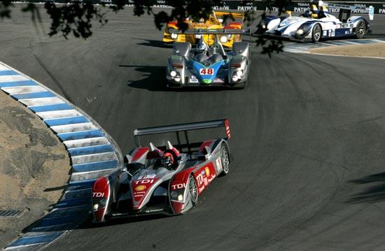 Audi 1-2 Victory in ALMS Finale at Laguna Seca