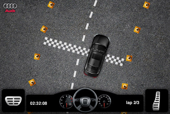AUDI A4 DRIVING CHALLENGE Game